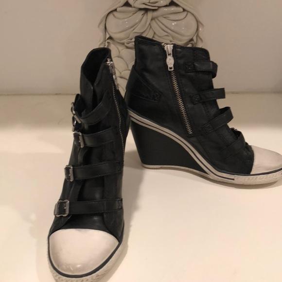 6da0ef7a1dfa Ash Shoes - Super cute wedge sneakers by ASH